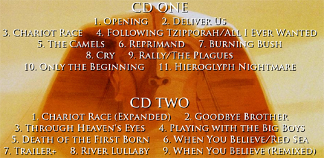 THE PRINCE OF EGYPT (Expanded) (2CD)